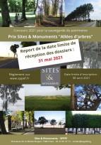 """Lancement de l'édition 2021 - Prix Sites & Monuments """"Allées d'arbres"""" et """"Second œuvre"""""""